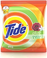 Tide Plus Jasmine and Rose Detergent Powder - 2 kg Pack