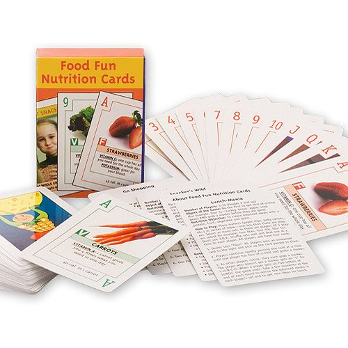 Home Nutrition Cards, Educational Game Deck, Easy To Play, Unique W/ Nutrition Facts