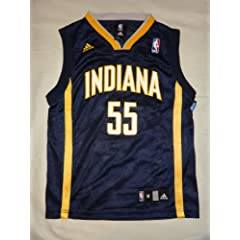Adidas Roy Hibbert #55 Indiana Pacers Youth Replica Jersey - Navy (Medium) by adidas