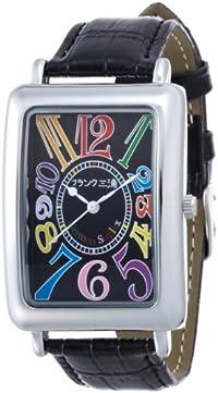 [フランク三浦]MIURA 大型初号機(改)全国の三浦ファンに応えた116%増量モデル 完全非防水 腕時計 ジャパンクオーツ FM01OK-CRBK