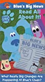 Blues Clues - Blues Big News - Read All About It! [VHS]