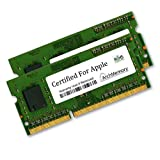 CERTIFIED FOR APPLE 8GB Kit (2 x 4GB) RAM Memory for MacBook Pro Intel Core 2 Duo Mid 2009 Models MB990LL/A MB991LL/A MC118LL/A MB985LL/A MB986LL/A, DDR3-1066, PC3-8500, 204p SODIMM Upgrade