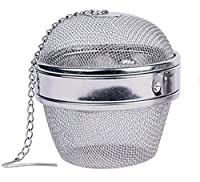 Maxware Stainless Steel One Piece 3 Inch Teaball/spice Ball,tea Strainer, Tea Infuser,Seasoning Ball