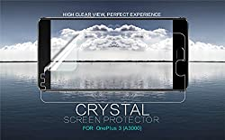 Original Nillkin Clear CRYSTAL Screen Guard / Scratch Protector for OnePlus 3 Three