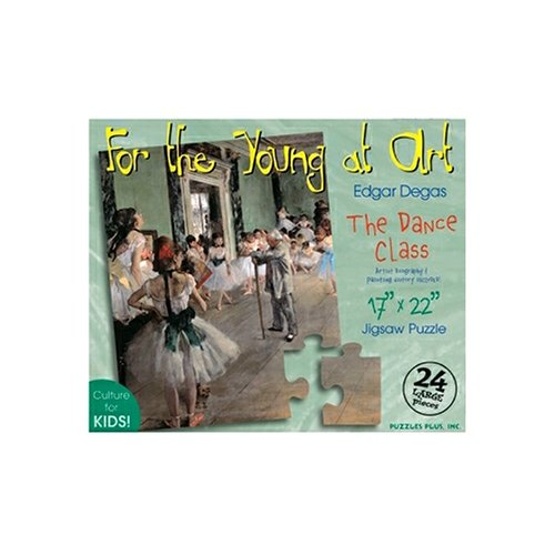 Cheap Fun Puzzles Plus The Dance Class Degas 24 Piece Jigsaw Puzzle (B000BXKRHC)