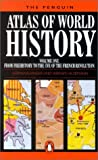 img - for The Penguin Atlas of World History, Vol. 1 book / textbook / text book