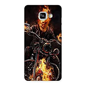 Ghost Multicolor Rider Back Case Cover for Galaxy A5 2016