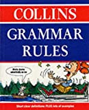 Collins Grammar Rules (0003122859) by Rose, Angus