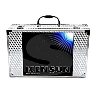 "Kensun HID Xenon Conversion Kit ""All Bulb Sizes and Colors"" with Premium Ballasts - 9006 (HB4) - 6000k - 2 Year Warranty"