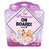 Disney Baby on Board Sign, Princess