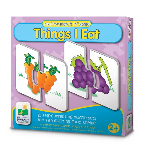 The Learning Journey My First Match It! - Things I Eat