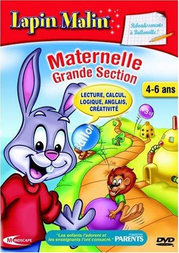 Lapin Malin Maternelle 3 - Rebondissement à Ballonville 4-6 ans (vf - French software)