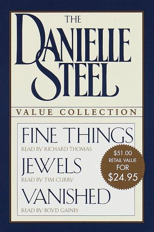 Image for The Danielle Steel Value Collection: FINE THINGS; JEWELS; VANISHED