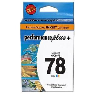 Performance Plus HP 78 Remanufactured Tri-Color Inkjet Cartridge