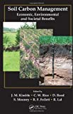 img - for Soil Carbon Management: Economic, Environmental and Societal Benefits book / textbook / text book