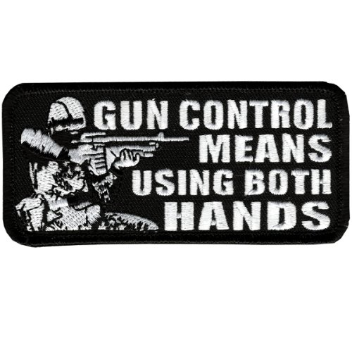 Hot Leathers Gun Control...Both Hands (4