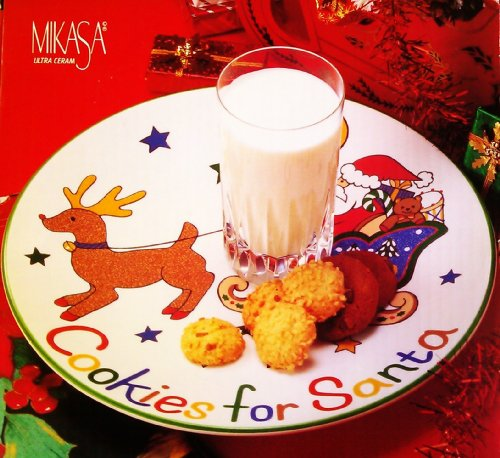 Mikasa Cookies for Santa Plate Mikasa China Japan