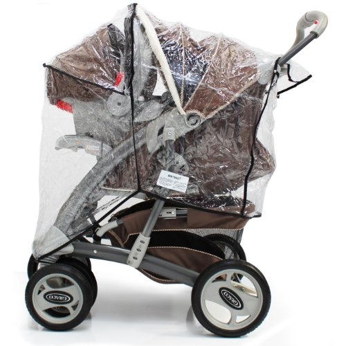 Baby Travel Travel System Rain Cover Universal Fit