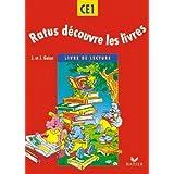 Ratus découvre les livres - CE1 - methode de lecture (eleve) (French Edition)