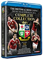 The British & Irish Lions 2013: The Complete Collection (5 Blu Ray) [Blu-ray]