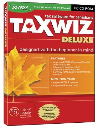TaxWiz Deluxe 2004 [Old Version]