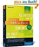 Einstieg in VBA mit Excel: F�r Micros...