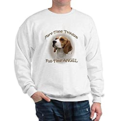 CafePress Beagle Part-Time Trouble Sweatshirt from CafePress
