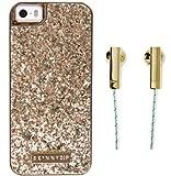SKINNYDIP ( スキニーディップ ) ロンドン の ゴールデン パイナップル iphone6ケース イヤフォン セット iPhone 6 Gold Pineapple Case ゴールド パイン ケース ブランド アイフォン ケース モバイル カバー apple6 iphone 保護シート ゲット 海外 ブランド