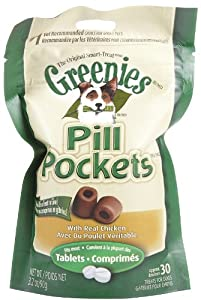 Canine Pill Pockets Tablet 3.2oz Chicken