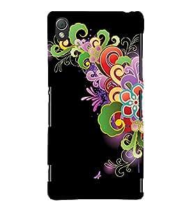 Fuson Premium Printed Hard Plastic Back Case Cover for Sony Xperia Z3
