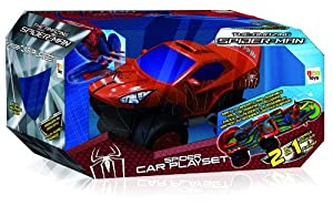 Spiderman - 550735 - Jeu Électronique - Spidercar Playset 4
