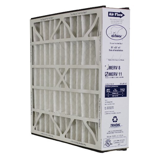 259112-103 Trion Air Bear Supreme 20x20x5 Media Filter-MERV 11 (Air Bear Air Cleaner compare prices)