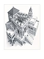 ArtopWeb Panel Decorativo Escher Ascending And Descending, 1960 41X52 Multicolor