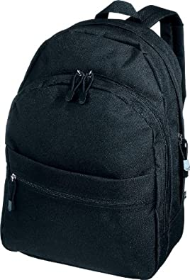 CENTRIX 'TREND' RUCKSACK BACKPACK - 11 GREAT COLOURS (BLACK)