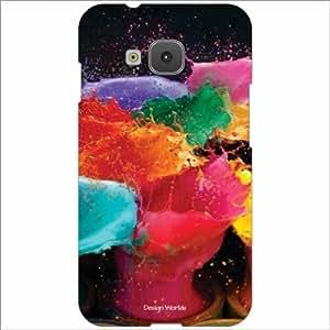 Design Worlds - Samsung Z1 Designer Back Cover Case - Multicolor Phone Cover