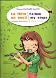 img - for Follow my steps a beginner Flute Method + CD (French and English) book / textbook / text book