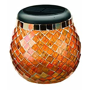 Click to buy LED Outdoor Lighting: Smart Solar Glass Mosaic Solar T-Light from Amazon!