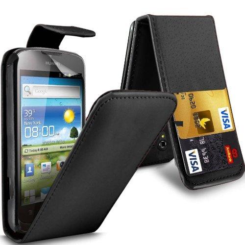 c63r-huawei-ascend-g300-u8818-black-pu-leather-flip-wallet-case-cover-lcd-screen-protector-2-interna