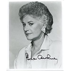 Bea Arthur Autographed 8x10 Photo