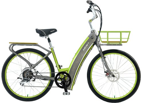 Currie IZIP E3 Metro Step-thru - Electric Bicycles (Dark Grey)