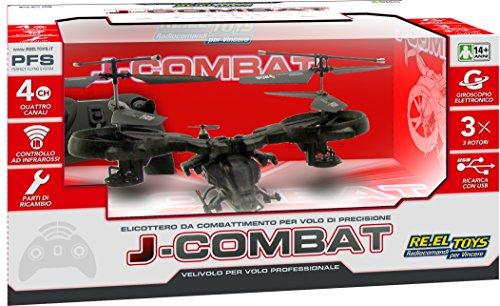 Re.El.Toys 0412 Elicottero ad infrarossi J-Combat