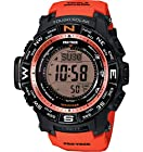 Casio Men's PRW-3500Y-4CR Atomic Digital Display Quartz Red Watch