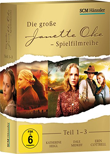 Die große Janette Oke-Spielfilmreihe: Teil 1-3 [3 DVDs]