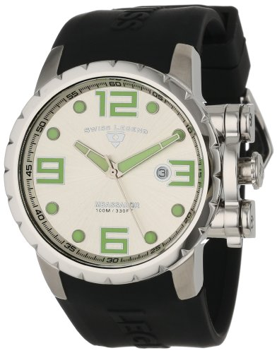 Swiss Legend Men's 30021-02S Ambassador Silver