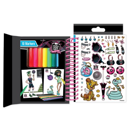 Monster High Mini Sketch Book front-530765
