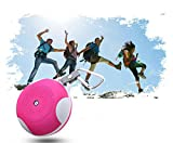 Baudio Portable Outdoor Sports Water Resistant Weather proof Shock proof Dust proof Rugged High power Wireless Bluetooth Speaker with Rechargeable Battery and built in Microphone for Hands-free calling Compatible with any Bluetooth media player phone iPod iPad Android Devices Google Music Pandora and all other media APPS. Support TF card music playing and FM Radio (Rose)