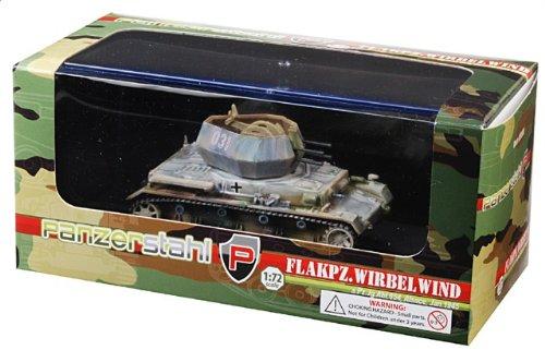 1:72 装甲車stahl ダイキャスト アーマー 88008 クルップ Sd.Kfz.161/4 Wirbelwind ダイキャスト モデル ドイツ軍 sPzJgAbt 654 #031 Alsac