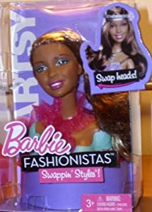 Amazon.com: Barbie Fashionistas Swappin' Styles! Artsy Swap Head: Toys