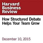 How Structured Debate Helps Your Team Grow | Ben Dattner