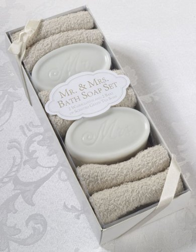 Mr. & Mrs. Bath Soap Set
